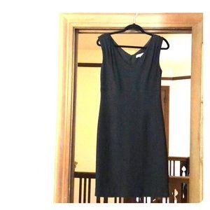 Banana republic little black dress size 6